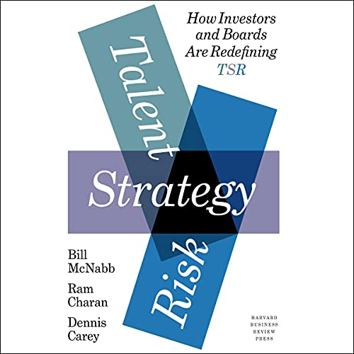 Talent, Strategy, Risk cover art