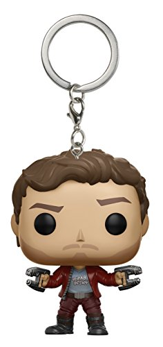 Porte-Clés Pocket Pop ! Keychain - Marvel Les Gardiens de la Galaxie vol.2 - Bobble-Head Star-Lord
