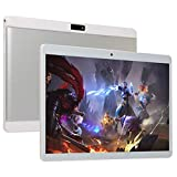 10.1 Inch Android Tablet PC, Android 9.0 Octa-Core Processor 1.5GHZ with 4GB RAM 64GB ROM. 1280x800 IPS HD Display, Tablets 10 Inch Dual Camera,Bluetooth,5G-WiFi,GPS,P7 (Silver)