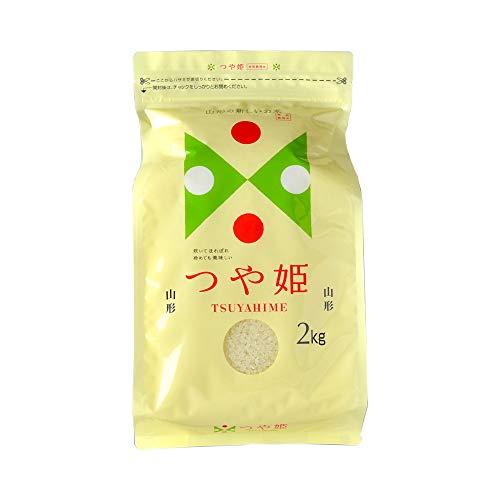 【無洗米】山形県産特別栽培米「つや姫」無農薬米 (2kg)