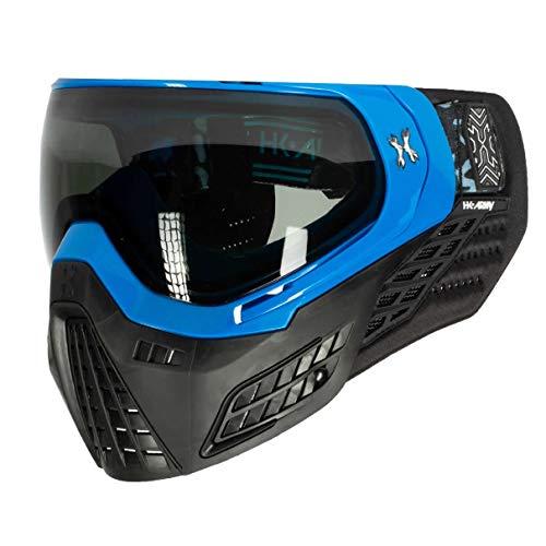 HK Army Paintball KLR Blackout Thermal Anti-Fog Mask/Goggles (Blackout Blue (Blue/Black))
