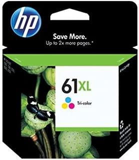 HP #61XL DeskJet 3050 / 3000 / 2050 / 2000 / 1050 / 1000 Tricolor Inkjet Cartridge, Part # CH564WN