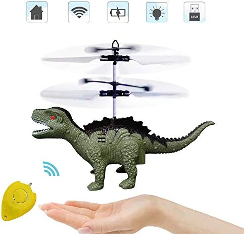 Flying Ball Toys Controlled Helicopter Toy RC Helicopter Dinosaur Toys with Mini Remote and product image