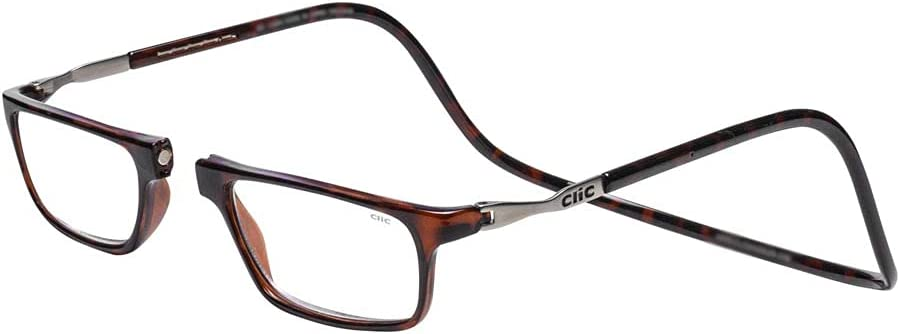 CliC Executive Tortoise Credence Readers +1.75 Same day shipping