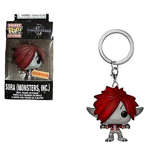 Llavero Funko Pocket Pop Sora Monsters Inc Exclusive Kingdom Hearts Disney 1