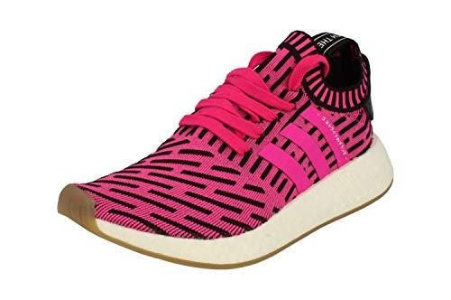 adidas NMD_R2 PK, Zapatillas de Deporte para Hombre, (Rosimp/Rosimp/Negbas), 38 2/3 EU