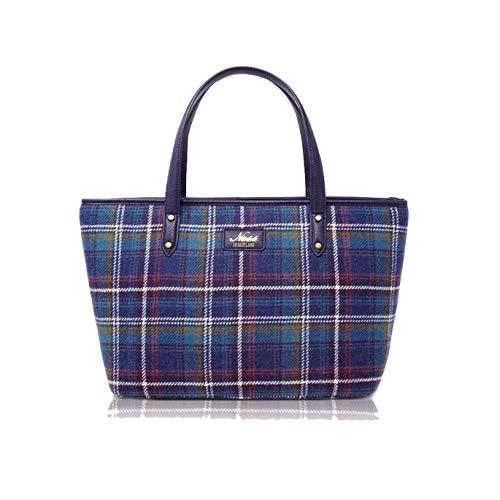 Ness STRATHY Tweed Tote Damen Handtasche, - Jewel Check - Größe: One Size