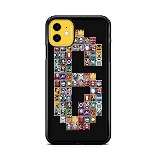 NETOBEEK [Rainbow Six Siege] Phone Case for iPhone 5/5S, Rainbow-Six-Siege-Logo,[NET9586-N2-1220],Handyhülle,Hülle,Coque,Custodia,Carcasa,Cover,Shell,Case