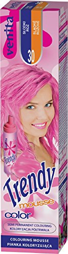 Venita Trendy Color Mousse Schaum Haarcoloration. Krasser Farbton Süße Rose (Sweet Rose) Nr. 30
