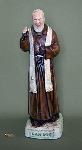 Statua Padre Pio cm50 in resina
