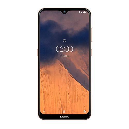 Smartphone Nokia Brasil 2.3 32GB 2GB RAM Tela 6.2' HD+ Câmera Dupla Traseira com Inteligência Artificial + Selfie 4G Dourado - NK004