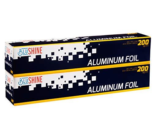 2-Pack Aluminum Foil – of 200 Square Foot Roll