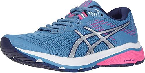ASICS Women's GT-1000 8 Shoes, 8.5M, Grey Floss/Silver