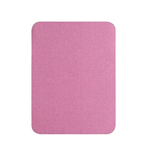 Rosa Roja Alfombras para Silla Oficina para Silla, Esteras para Sillas De Oficinapara Silla,90X120Cm Protector De Suelo para Silla De Oficinapara Silla,Alta Resistencia al Impacto