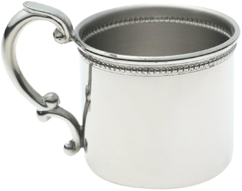 orden ahora disfrutar de gran descuento Empire Pewter Beaded Baby Cup by Empire plata plata plata  comprar marca