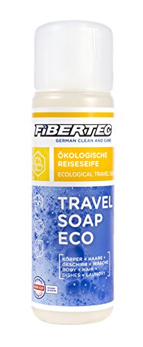 Fibertec Travel Soap Eco 250ml | Reiseseife | Alles-und-überall Seife | Outdoor Shampoo
