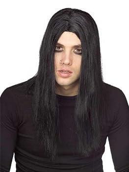 Rubie s Evildoer Wig Black One Size