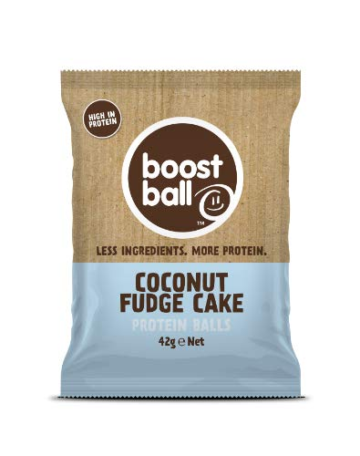 Boostball | Coconut Fudge Cake Protein Ball | 8 x 42g