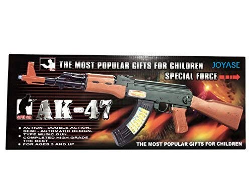 JOYSAE SY The Most Popular Gifts for Children Special Force AK-47 Toy Gun, Multicolor