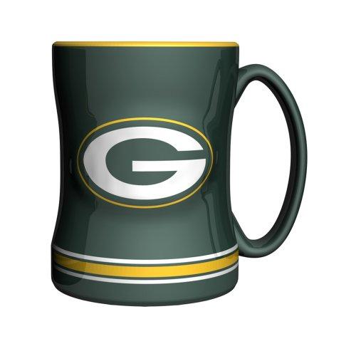 NFL modellierte Relief-Tasse, 414 ml, dunkelgrün