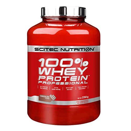 SCITEC Nutrition 100{e5f3260c2b693d29daa19e6b0dd9954343be18416ab26298abf24a6056e80e16} Whey Protein Professional - 2,3 kg Lemon cheesecake