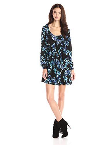 Minkpink - Vestido de otoño para mujer -  Azul -  Medium
