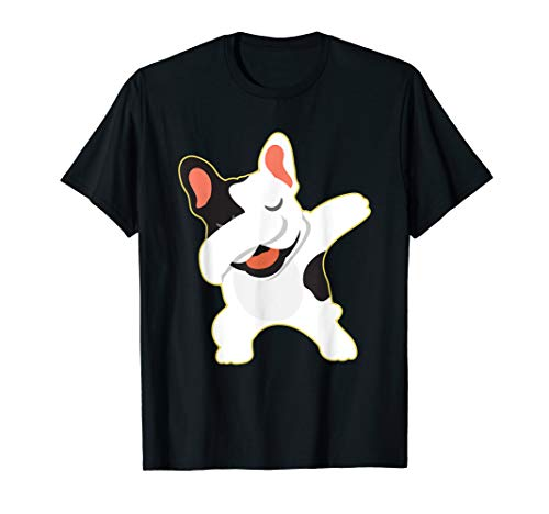 Dabbing French Bulldog Clothes Frenchie Outfit Stuff Gift T-Shirt
