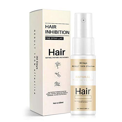 Haarentfernung Spray Body Enthaarungsspray Haarentfernungsspray Schmerzloses, Mildes, Feuchtigkeitsspendendes Enthaarungsspray Geeignet Für Männer Und Frauen, 20ml