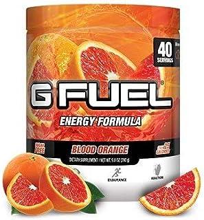 G Fuel Blood Orange Tub (40 Servings) Elite Energy and Endurance Formula 9.8 oz