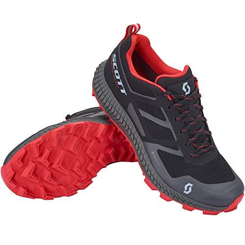 Scott M Supertrac 2.0 GTX Shoe Schwarz, Herren Gore-Tex Laufschuh, Größe EU 43 - Farbe Black - Red