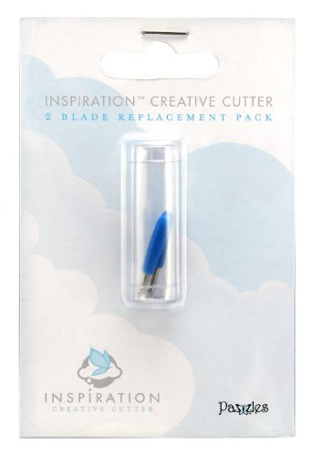 Pazzles Inspiration Replacement Blades, 2 Pack