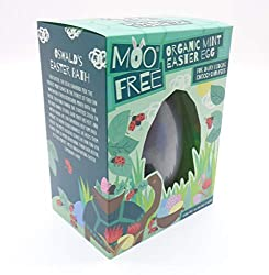 Moo Free Organic Mint Easter Egg Includes - Moo Free Organic Mint Easter Egg (140g) For Dairy Dodging Choccy Chompers - Dairy Free, Gluten Free & Vegan Moo Free Is For Everyone, Bringing Chocolatey Togetherness With Every Delicious Dairy-Dodging Bite...