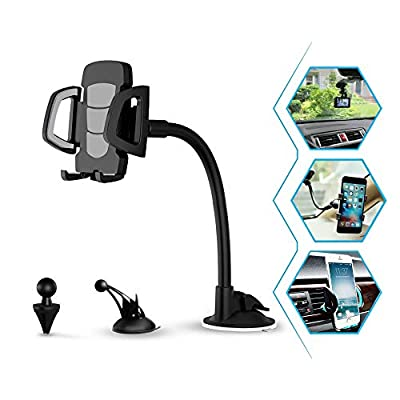 Cell Phone Holder for Car, 3 in 1 Universal Cel...