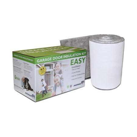 Garage Door Insulation Kit- DIY---- R-9 Complete Garage Insulation Kit