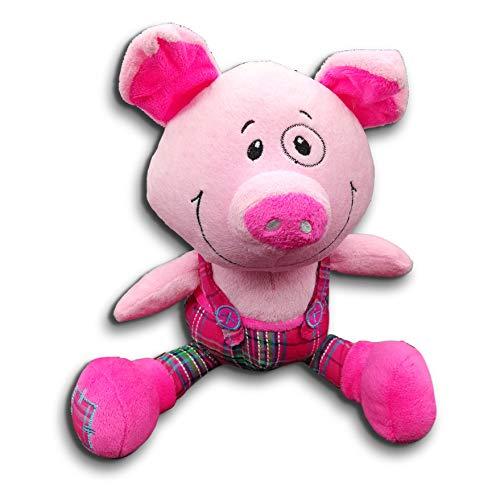 Unbekannt Glücksbringer, Glücks-Schwein mit Latzhose