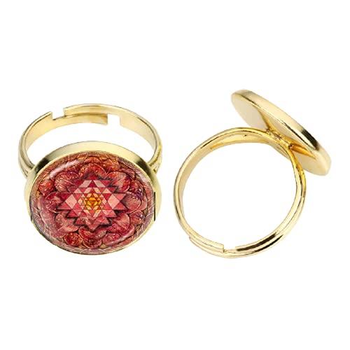 Accesorios de moda Rana Cuento de hadas joyería hecha a mano Clásico de cristal cúpula de hadas Rana anillo ajustable colares e correntes feminino
