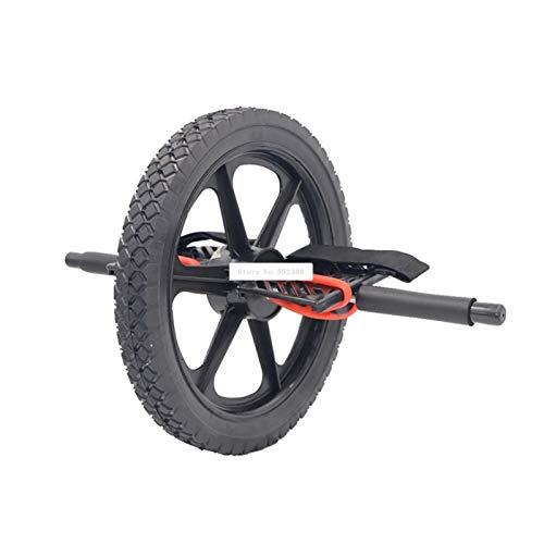 YNLRY Rodillo grande Ab Multifuncional Doble Uso Rueda de Pie Poder Rodillo de la Pierna que Treading Ab Coaster Pie Abdominal Muscle Wheel
