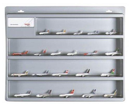 Herpa 519571 - Schaukasten Größe 2 (mittel) für Wings Modelle 1:500, silber