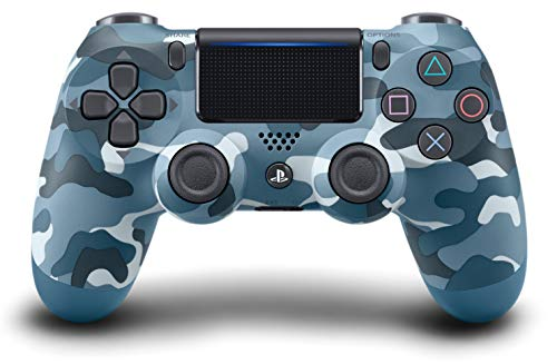 Sony - V2 Dualshock 4 Wireless Controller, Blue Camouflage (PS4)