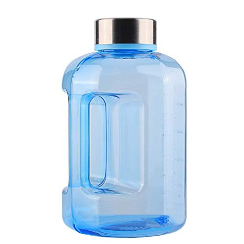 Botella de agua con marca de tiempo Gallone para camping al aire libre/Gallon Water Bottle con Time Marker One Gallon Water Bottle para camping al aire libre