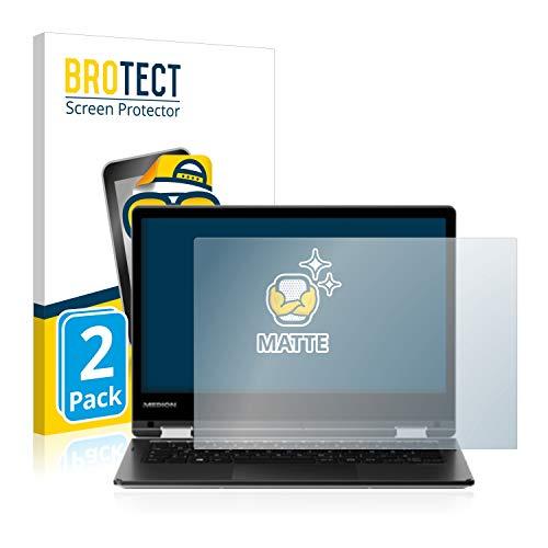 BROTECT 2X Entspiegelungs-Schutzfolie kompatibel mit Medion Akoya E2221T Bildschirmschutz-Folie Matt, Anti-Reflex, Anti-Fingerprint