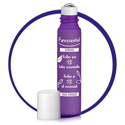 Puressentiel SOS Stress Roller with 12 Essential Oils 5ml by PURESSENTIEL ITALIA Srl