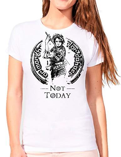 The Fan Tee Camiseta de Mujer Juego de Tronos Tyrion Snow Dragon Daenerys Stark 082 XL