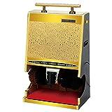 FYLZW Pulidora Automática De Inducción para Zapatos, Máquina Eléctrica para Limpiar Zapatos, Cepillo Automático, Sensor De Zapatos, Pulidora Vertical para Zapatos, Adecuada