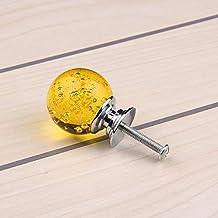 Bureze 30mmx40mm 10 stks Kleurrijke K9 Crystal Bubble Ball 30mm Handvat Knop Meubilair Ladekast Deurgrepen Knopen Yz-2011-...