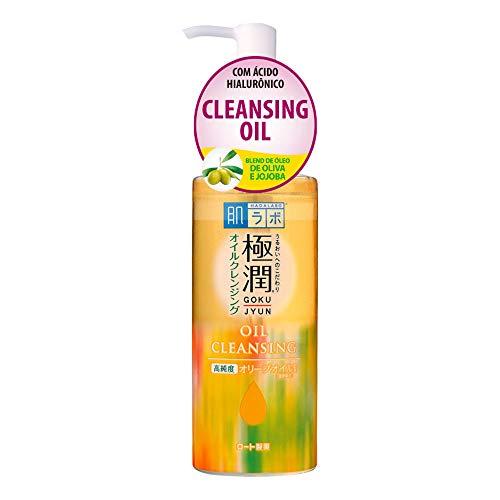 Gokujyun Oil Cleasing - Óleo Removedor de Maquiagem com Ácido Hialurônico 200ml, Hada Labo