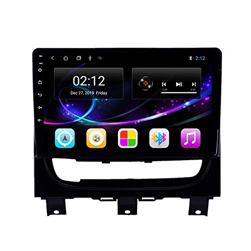 Estéreo para automóvil Android 10.0 Radio Compatible con FIAT Strada Idea 2012-2016 Navegación GPS Unidad Principal de 9 Pulgadas Pantalla táctil HD Reproductor Multimedia Video con WiFi DSP SWC