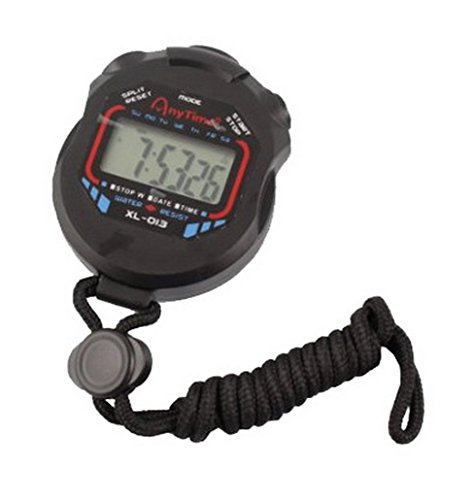 Ampio display Water Resistant professionale sport cronometro Timer