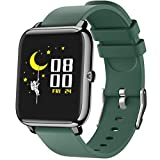 Smart Watch, 1.4' Touch Screen Smartwatch,Fitness Tracker with Heart Rate Monitor, Sleep Monitor, Bluetooth Camera Music Control Smart Watch for Men Women