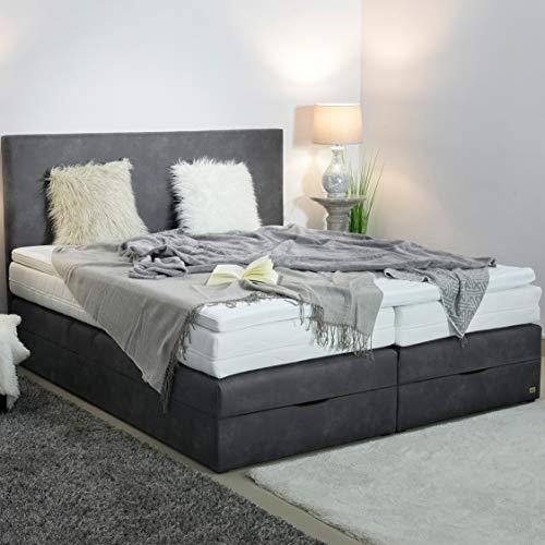 Boxspringbett mit Bettkasten in Handarbeit gefertigt kaufen  Bild 1*